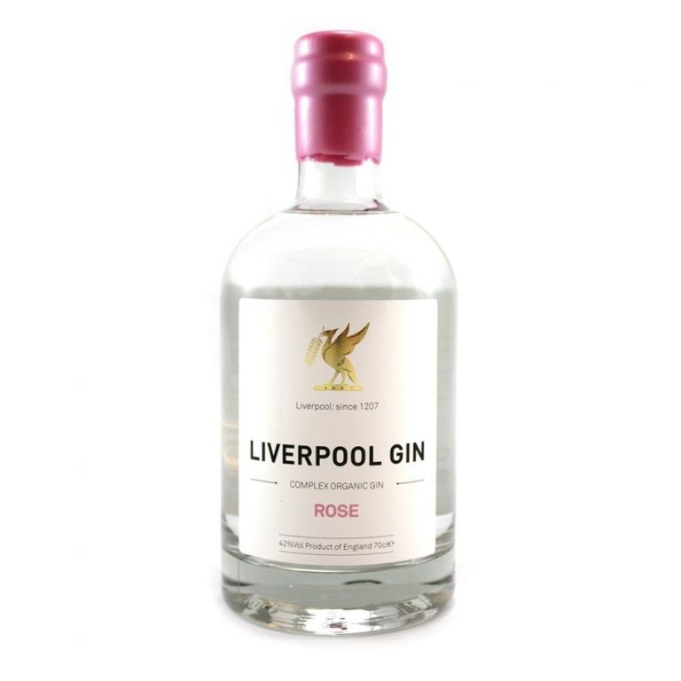 Liverpool Gin Rose Valentine's Day