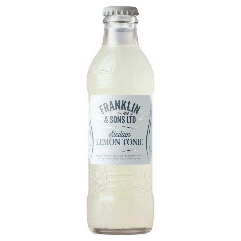 Franklin Sons Sicilian Lemon Tonic Water 200ml Temp