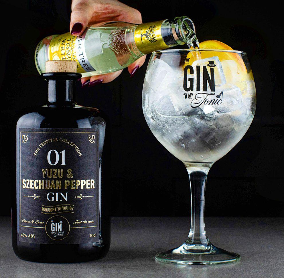 The Gin To My Tonic Yuzu & Schezuan Pepper Gin