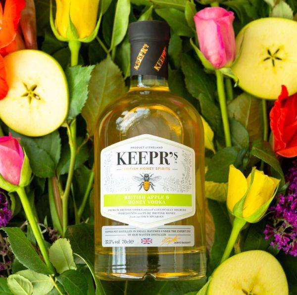 Keepr's British Apple & Honey Vodka