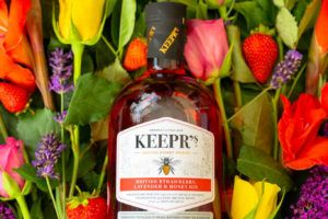 Keepr's British Strawberry, Lavender & Honey Gin