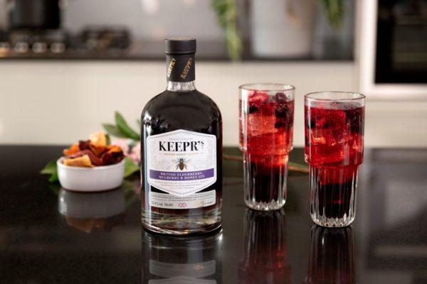Keepr's British Elderberry, Mulberry & Honey Gin
