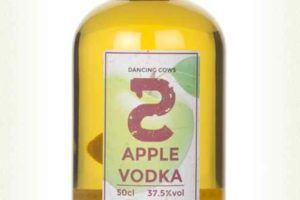 Dancing Cows Apple Vodka
