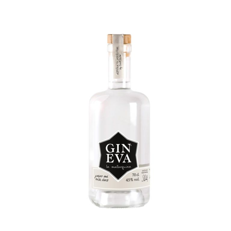Gin Eva Olive Gin Bottle Picture