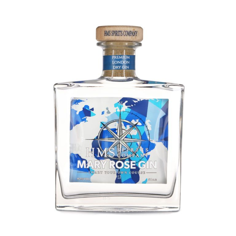 Hms Spirits Mary Rose Gin Front