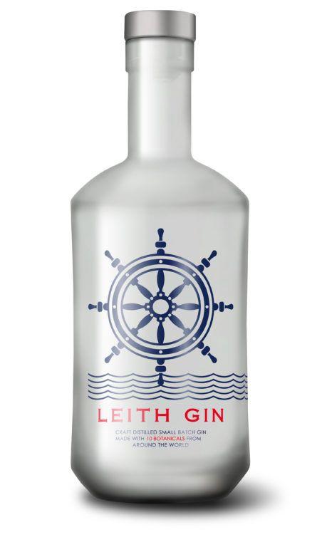 Leith Gin White Background