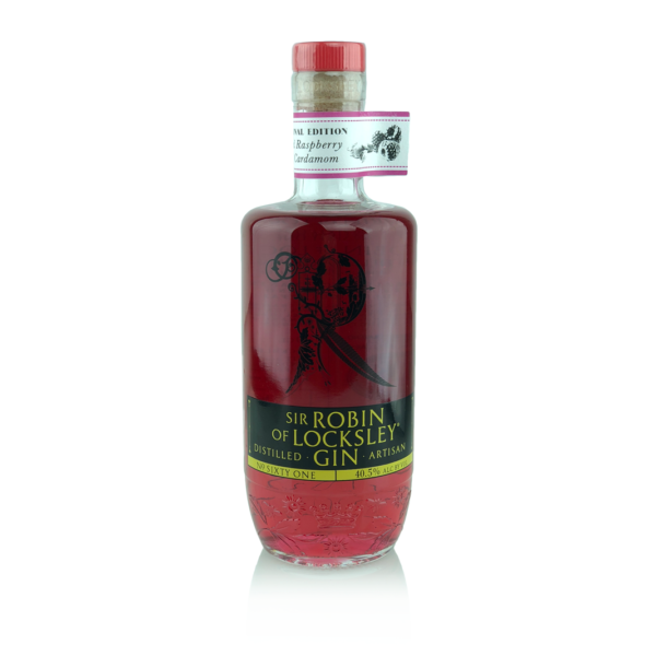 Real Raspberry & Cardamom Infused Sir Robin of Locksley Gin