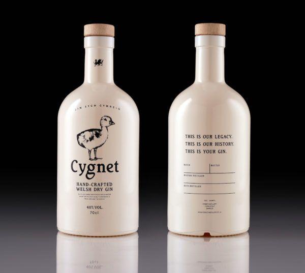 Cygnet Gin Bottle