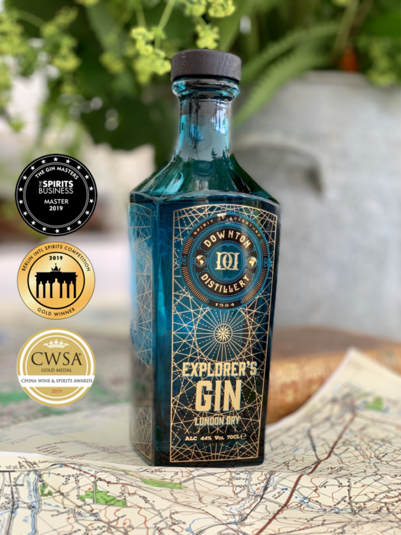 Explorer's Gin Medals
