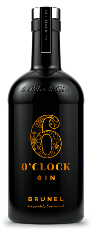6gin Brunel 70cl Front Web
