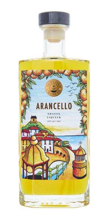 Arancello Product Shot