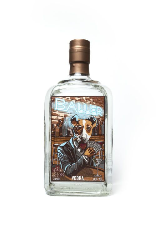 Baller Vodka (40% 700ml)