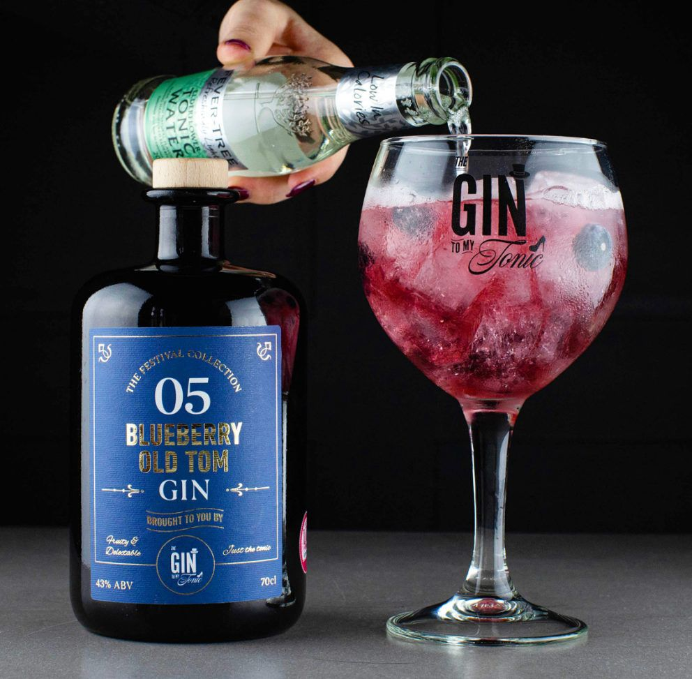 The Gin To My Tonic Blueberry Old Tom