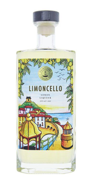 Limoncello Product Shot