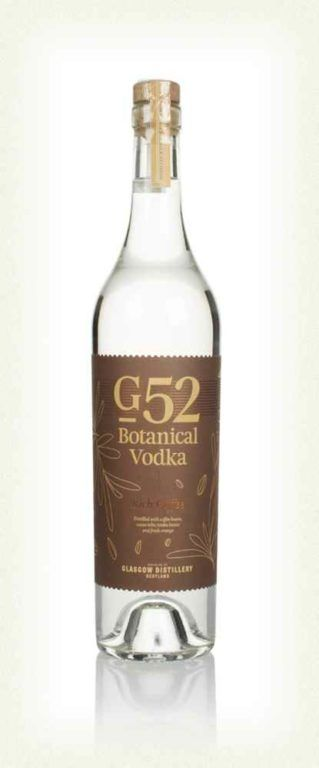 G52 Rich Coffee Botanical Vodka