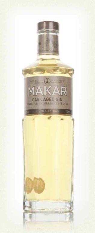Makar Mulberry Cask Aged Gin