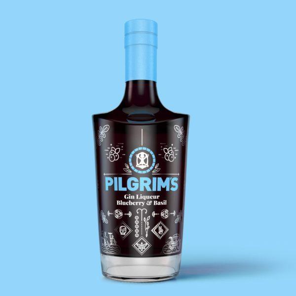 Blueberry Pilgrims Background