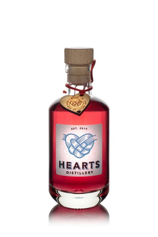 Hearts Gin Red17