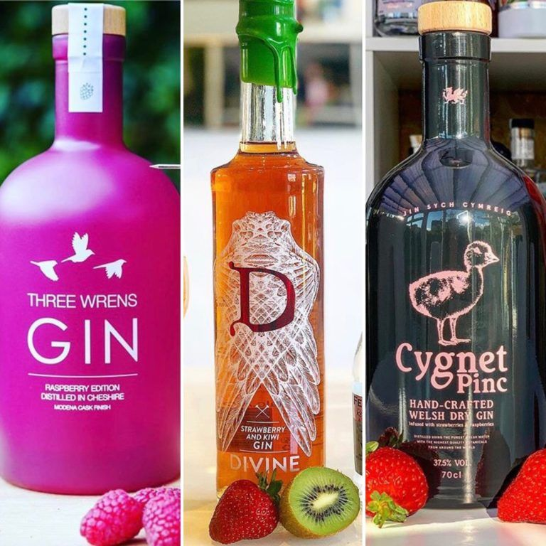The Gin To My Tonic Berry Bundle featuring Three Wrens, Divine and Cygnet Gins