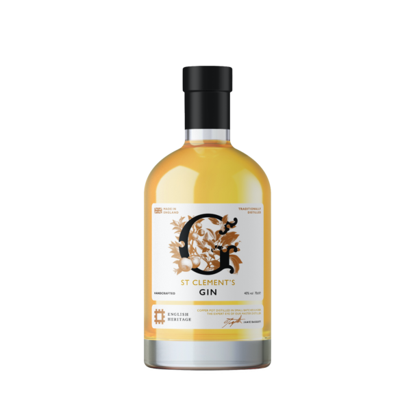 English Heritage St Clements Gin 70cl (cutout)