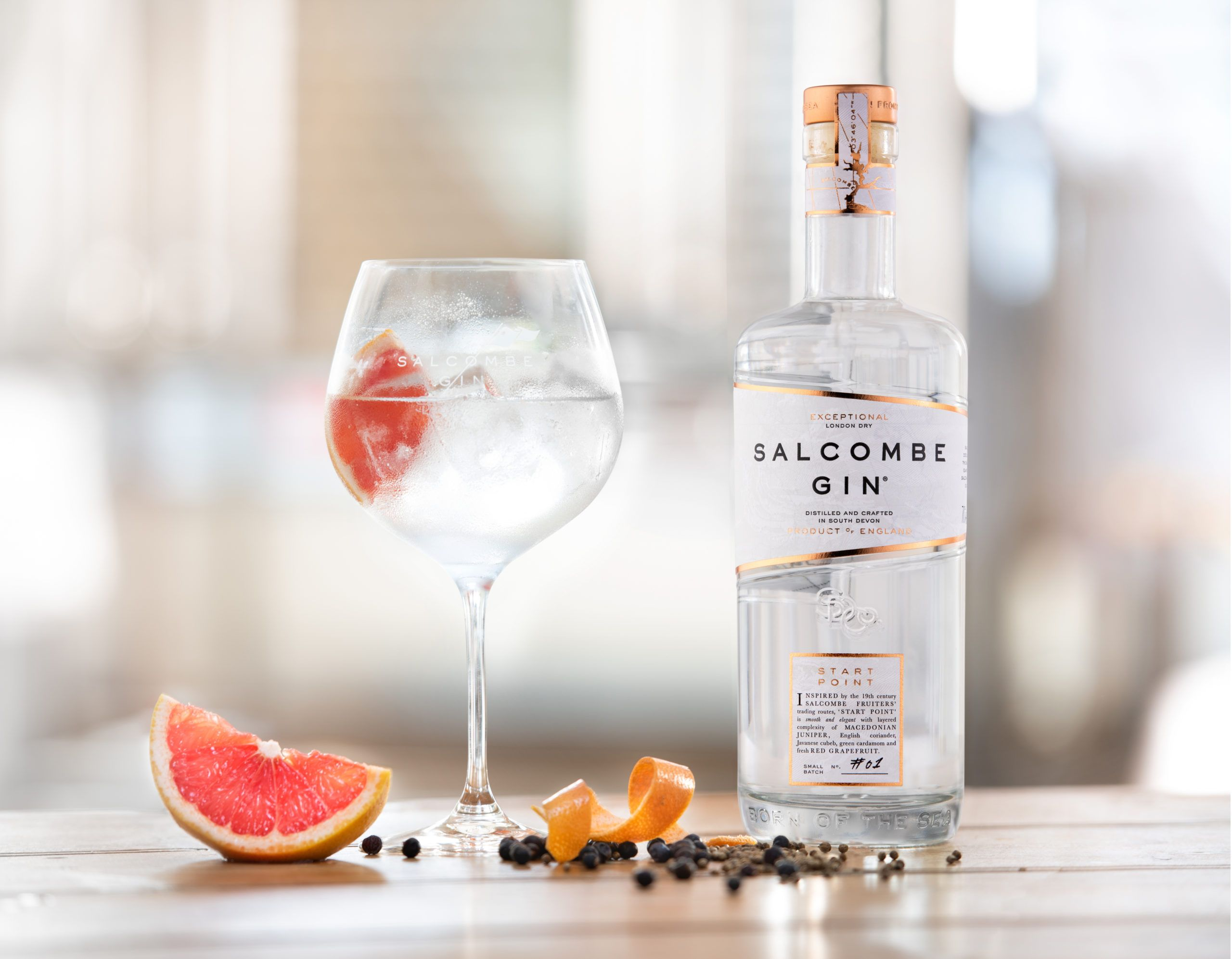 Salcombe Gin 270819 041 Edited Bottle Closer To Glass