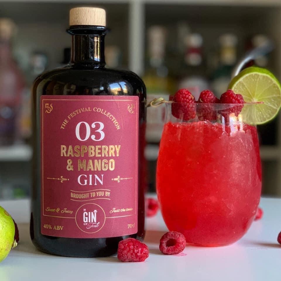 The Gin To My Tonic Raspberry & Mango Gin Slushie
