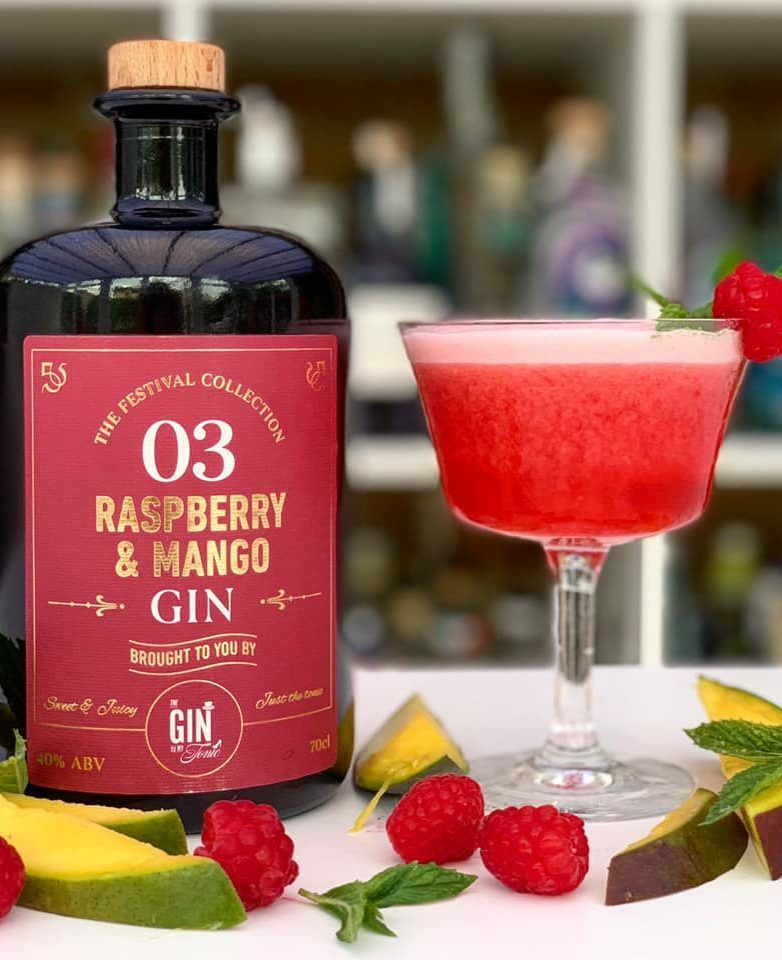 The Gin To My Tonic Raspberry & Mango Gin Cocktail
