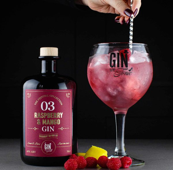 The Gin To My Tonic Raspberry & Mango Gin