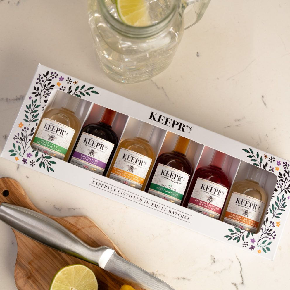 Keepr's Honey Taster Gift Box 6 X 5cl