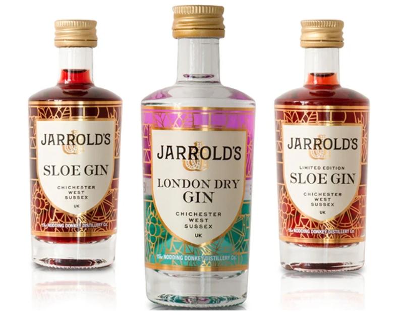 Jarrolds Gin Miniatures