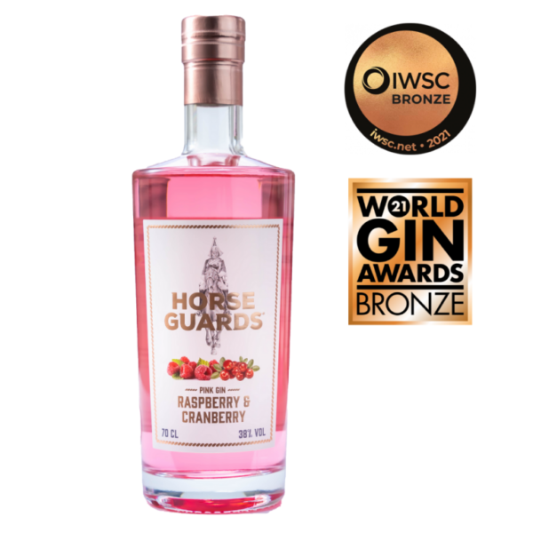 Horse Guards Pink Gin