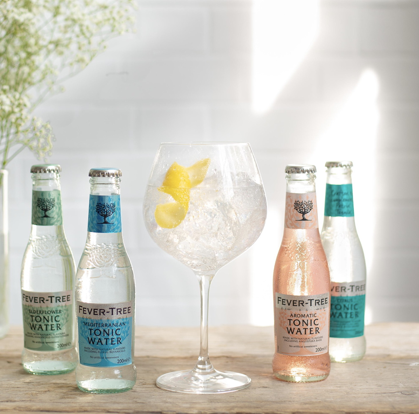 Fever Tree Bottles