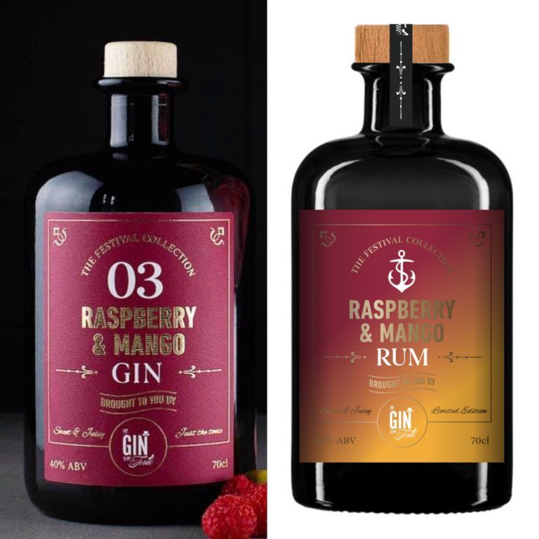 Raspberry & Mango Gin & Rum Bundle