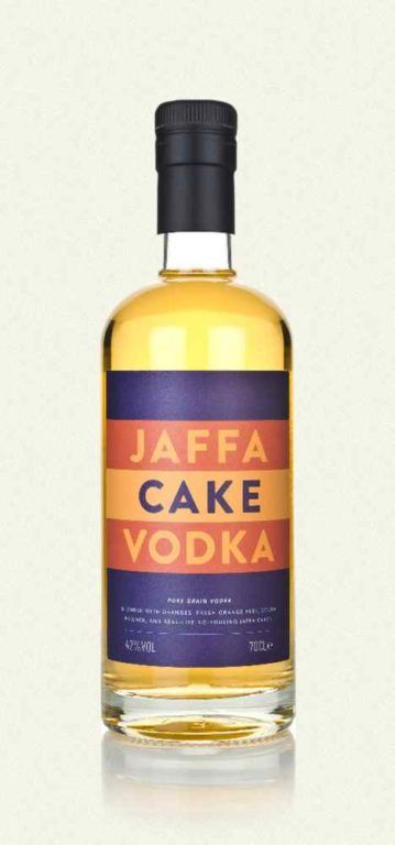 Jaffa Cake Vodka
