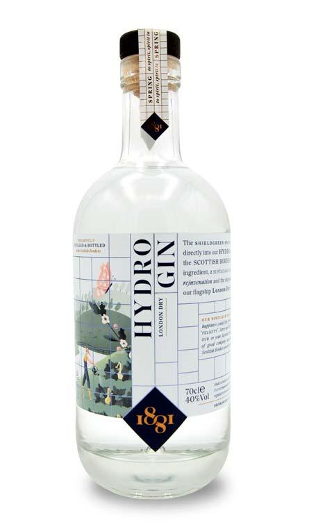 1881 Distillery Hydro Gin 1