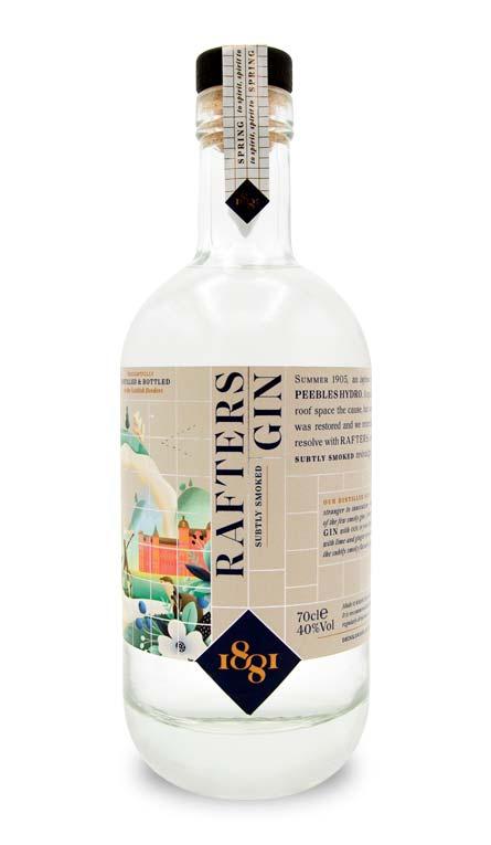 1881 Distillery Rafters Gin 1