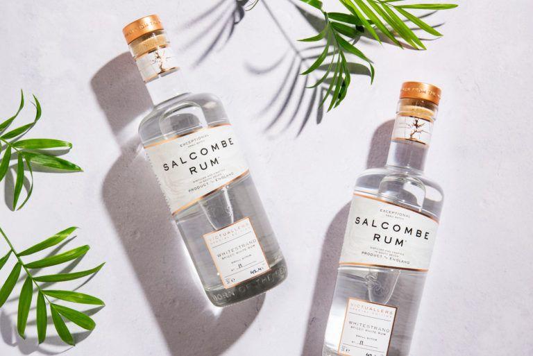 Salcombe Gin Rum Overhead