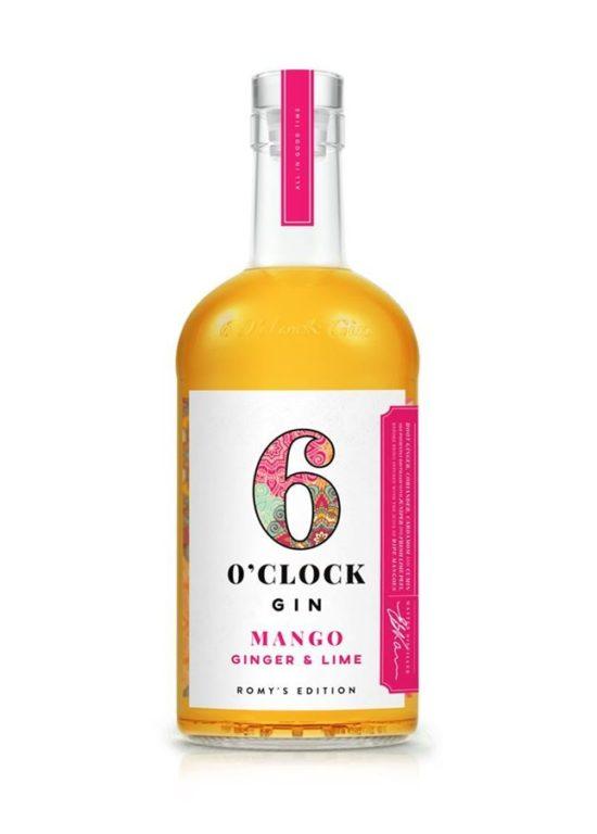 6 Oclock Mango Ginger Lime Gin 70cl 900