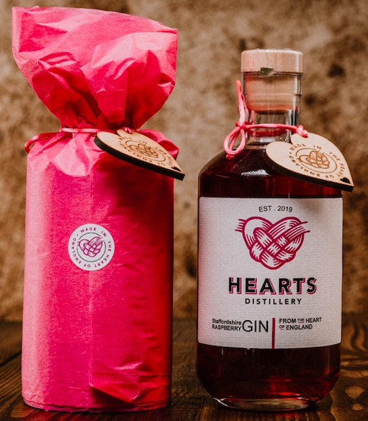 Raspberry Hearts