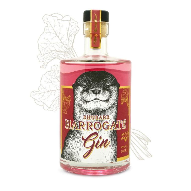 Rhubarb Harrogate Gin