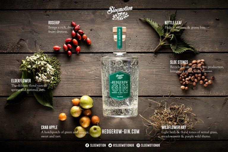 Hedgerow Gin Botanicals Sm