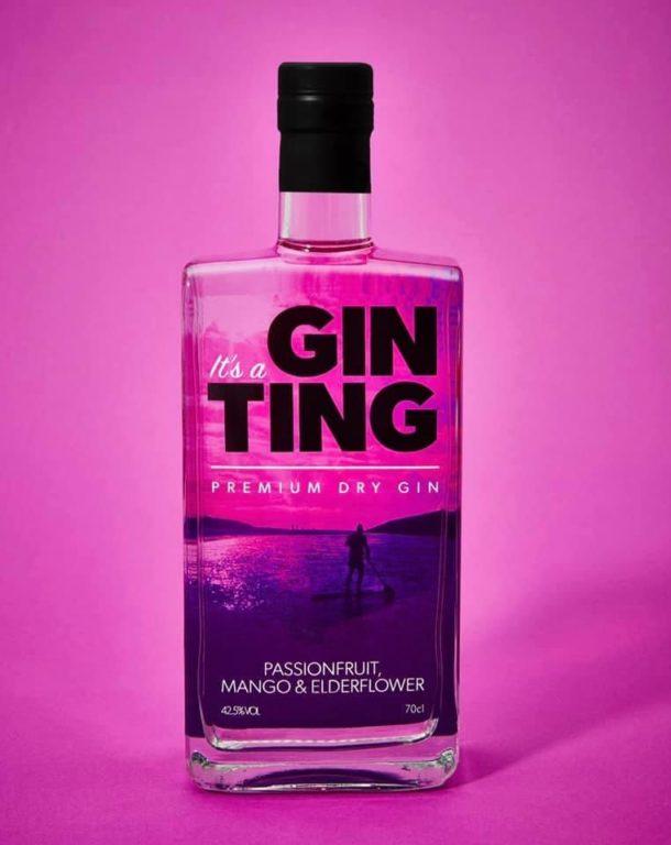 Gin Ting Passionfruit, Mango & Elderflower