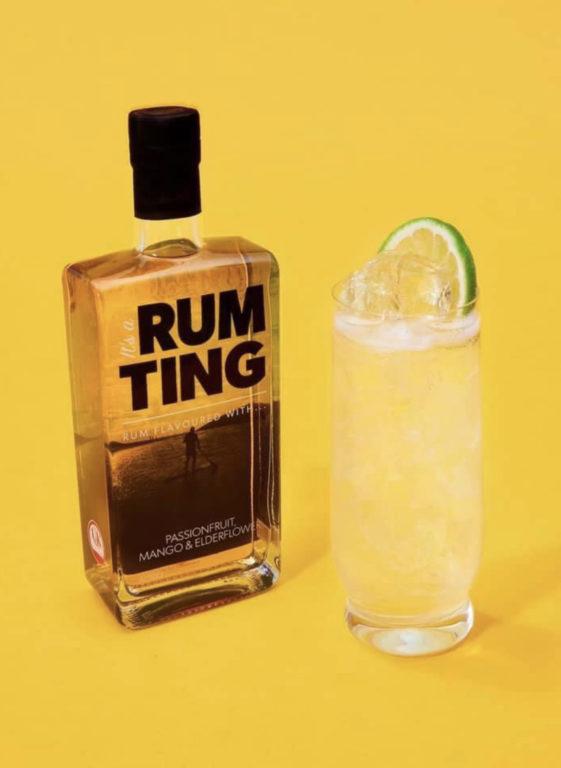 RumTing Passionfruit Mango and Elderflower Rum